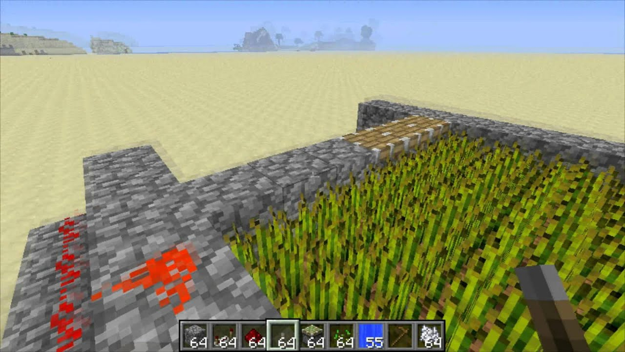 how to make wheat minecraft