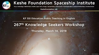 267th Knowledge Seekers Workshop  March 14 2019