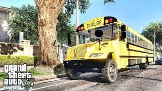 GTA 5 REAL LIFE MOD #674 -  BACK TO SCHOOL (GTA 5 REAL LIFE MODS)
