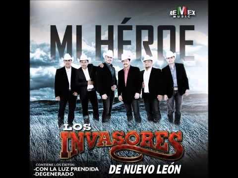Los Invasores De Nuevo Leon - Con La Luz Prendida
