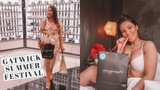 COME TO THE GATWICK SUMMER FESTIVAL | DAILY VLOG | Mona's Eyes Beauty