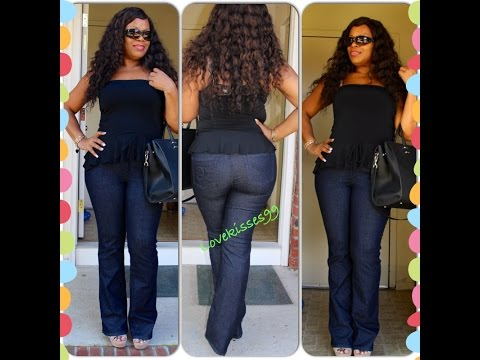Jeans for Real-Life Curvy Girls - PZI Jeans!