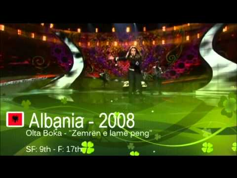 Albania in Eurovision - All Entries [HD] (2000-2013)