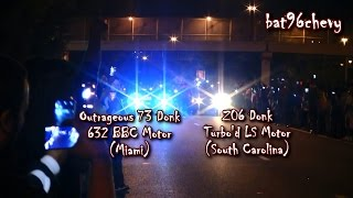 THE RACE: Z06 DONK VS. OUTRAGEOUS 73 DONK OFFICIAL VIDEO (MULTIPLE ANGLES & AERIAL VIEW) - HD