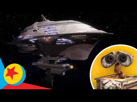 Go On a Tour of the Axiom from WALL•E! | Pixar
