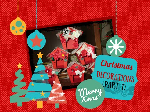 Decorazioni natalizie fai da te (Parte 1) – DIY Christmas Decorations (Part 1)