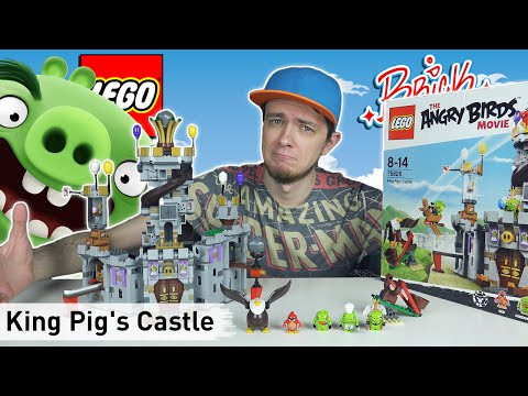 LEGO The Angry Birds Movie: King Pig's Castle (75826) - Brickworm