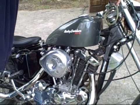 1974 Harley-Davidson Sportster 1000  First Start