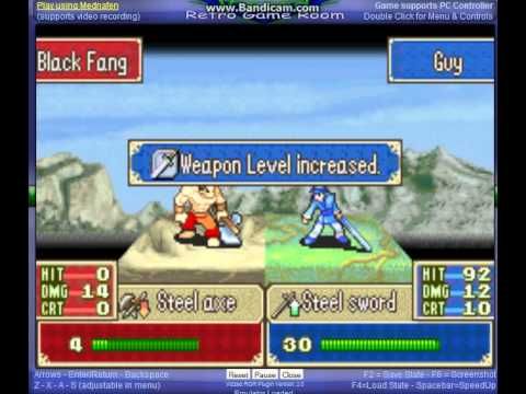 Fire Emblem - Fire Emblem Mine Glitch - User video