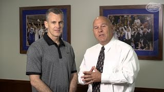 Florida Basketball: Billy Donovan Farewell Interview