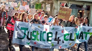 Canterbury Youth Climate Change March