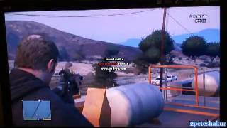 GTA 5 - How to get 5 wanted stars and escape sucessfully (without cheats! ;)