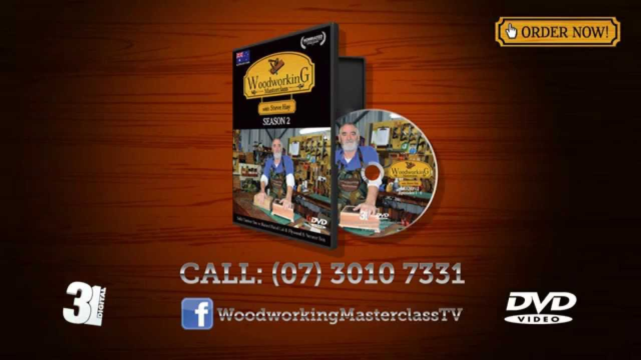 Woodworking Masterclass S01 & S02 on DVD! - YouTube