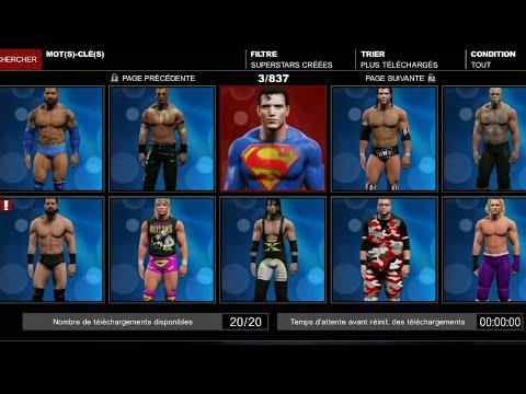 WWE 2K15   Comment télécharger dans la Communauté ( Spider-Man. Batman. Jeff Hardy ... )