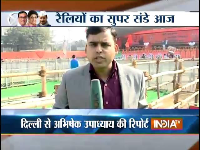 PM Modi, Sonia Gandhi, Kejriwal to address rallies for Delhi polls