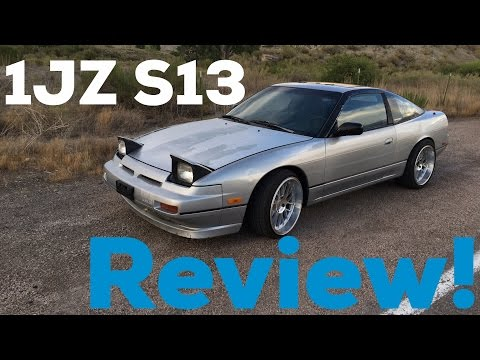 Nissan 240sx S13 Hatch w/ JDM 1JZ Swap!   Review!