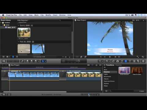 Final Cut Pro X Tutorial - How To Fade In And Fade Out
