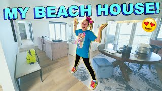 TOUR OF MY NEW BEACH HOUSE!!!