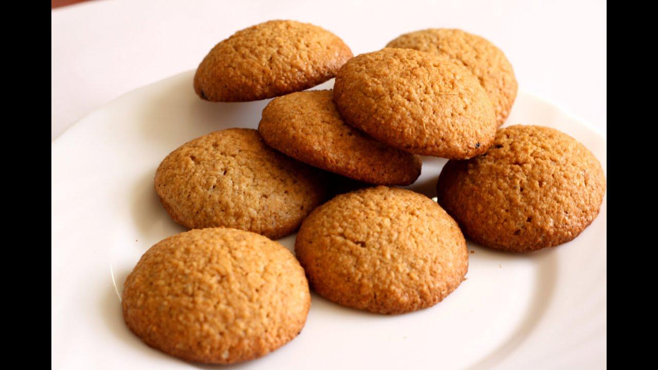 Простое домашнее овсяное печеньеы