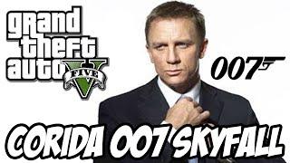 GTA V - Corrida 007 James Bond SKYFALL SENSACIONAL