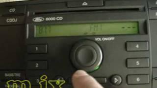 Ремонт автомагнитол FORD 6000CD Visteon.wmv 02:07