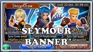 Seymour Banner - Dissidia Final Fantasy Opera Omnia