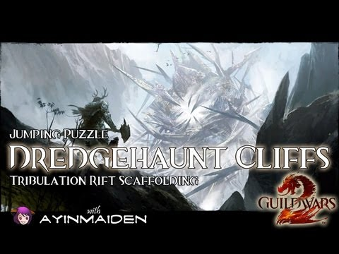 ★ Guild Wars 2 ★ - Jumping Puzzle - Dredgehaunt Cliffs (Tribulation Rift Scaffolding)
