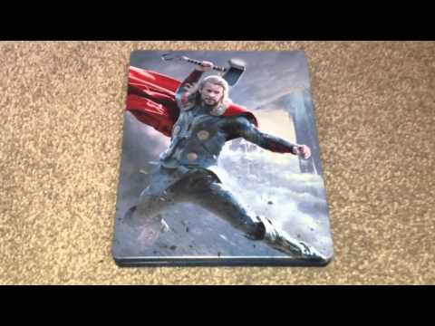 Thor: The dark world UK Blu-ray steelbook unboxing