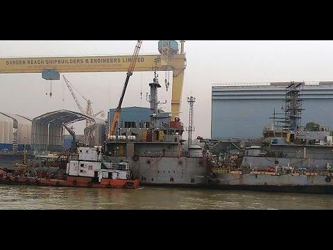 Building Warships  - Garden Reach Shipbuilders & Engineers (GRSE)