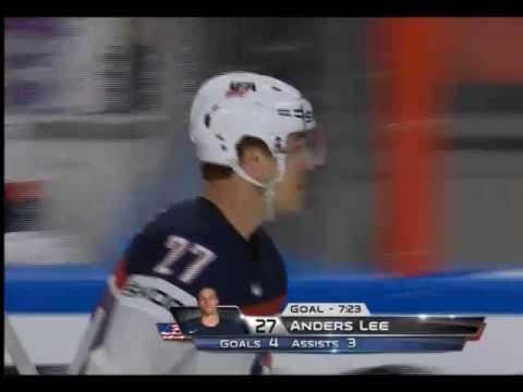 Чемпионат мира по хоккею 2017. США-Словакия счет 6:1 ГОЛ