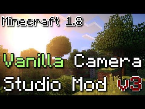 Vanilla Camera Studio Mod v3 - Minecraft 1.8