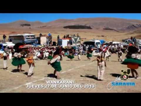 Concurso De Danzas Autoctonas - Wancarani 2013 (moho) Parte 1