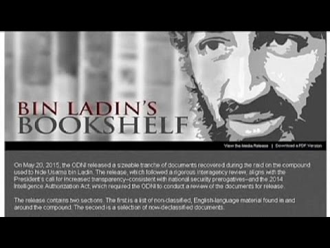 US releases list of documents seized in Bin Laden raid