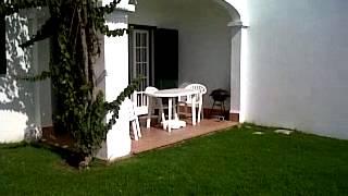 Apartment Menorca, pool, garden + view