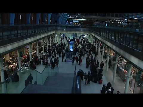 Eurostar passengers stranded in London Video