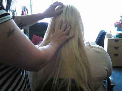 Asmr Hair Brushing Very Very Long Blonde Hair & Hair Play. Relaxing Tingles. Stereo Sounds video