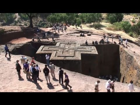 The Northern group of churches of Lalibela (Ethiopia)