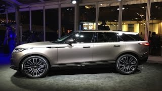 2018 Land Rover Range Rover Velar - First Look