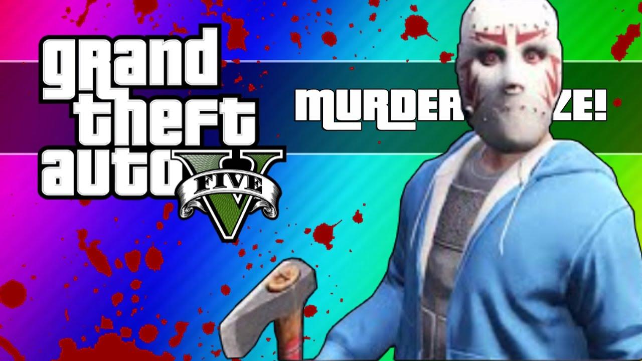 GTA 5 Online Murder Maze  H2o Delirious Gta 5 Mask