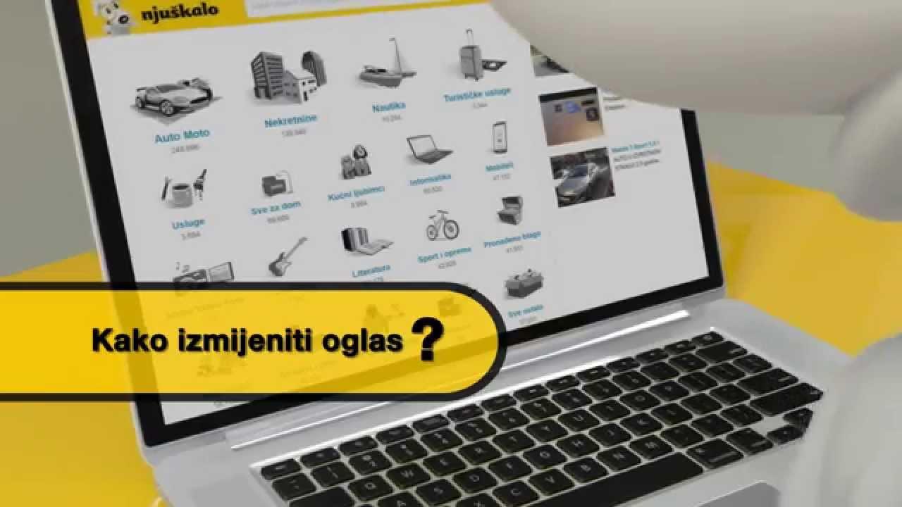 Kako izmijeniti oglas? - YouTube