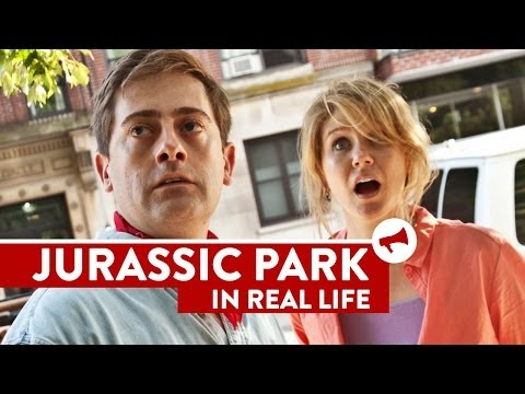 Jurassic Park In Real Life – Movies In Real Life (Episode 6)