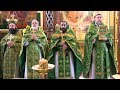 Схиархимандрит Серафим Бит Хариби на литургии в храме Рождества Христова г Краснодара mp3