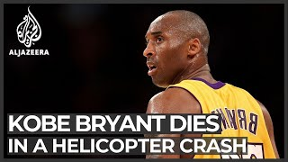 US basketball superstar Kobe Bryant killed in helicopter crash