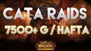 Wow: Gold Kasma: Cataclysm Raidleri - 7500+ Gold