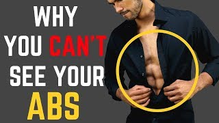 How To Get Yours ABS TO Show! | Reasons You Can't See Your Six Pack