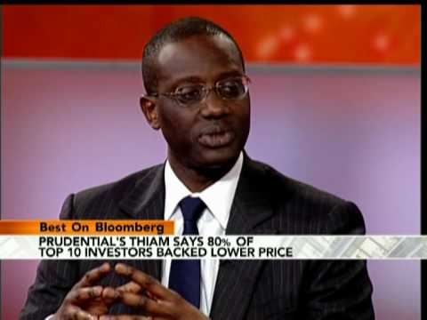 Prudential's Thiam Says `Sorry' Over Cost of AIA Bid