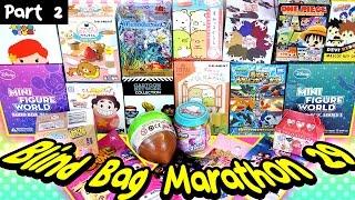 Surprise Blind Bag Marathon 29 - Part2 - Steven Universe, Disney, Tokidoki, Anime, Shopkins & MORE!
