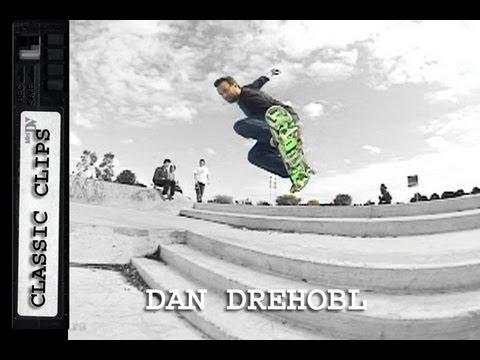 Dan Drehobl Skateboarding Classic Clips #121 Krooked