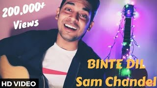 Binte Dil L Padmaavat |  Arijit Singh Crossing Limit Feat. Sam Chandel With Chords
