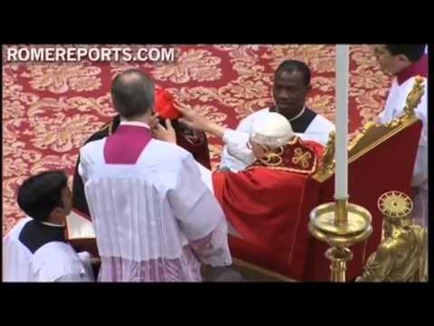 Pope Benedict XVI consecrates Major Archbishop Baselios Mar Cleemis as Cardinal